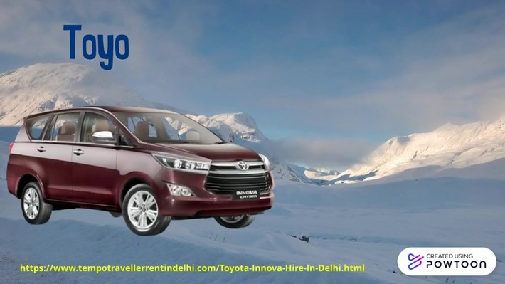 Toyota Innova Hire in Delhi | Innova Crysta Car Rental Delhi