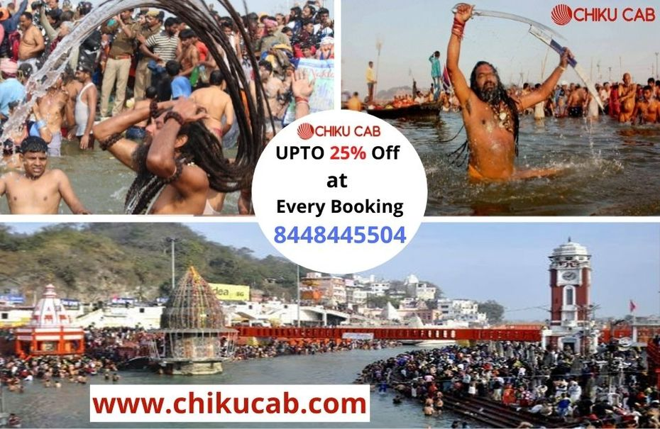 Book Taxi Services for Mauni Amavasya in Haridwar Kumbh 2021-Chiku Cab