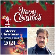 Sandeep Marwah 0f WPDRF Wishes Merry Christmas