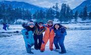 Snow point, Manali