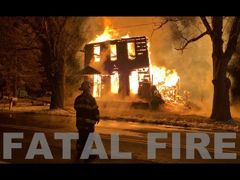 EARLY VIDEO: House fire in Lehigh Township, Northampton County, Pennsylvania