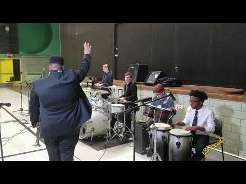 Kind Of Blue Jazz Band performing at wedding