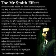 'Mr Smith Effect'