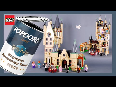 LEGO Harry Potter Hogwarts Astronomy Tower 75969 Stop Motion Speed Build