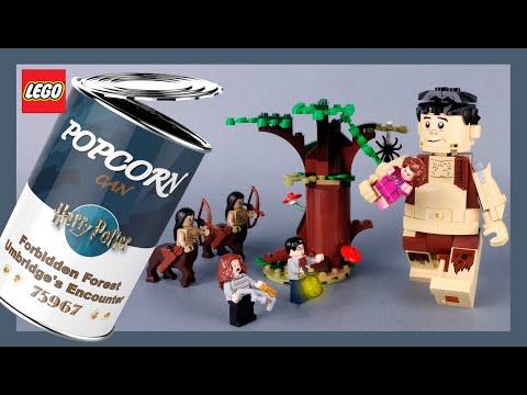 LEGO Harry Potter Forbidden Forest Umbridge's Encounter 75967 Stop Motion Speed Build