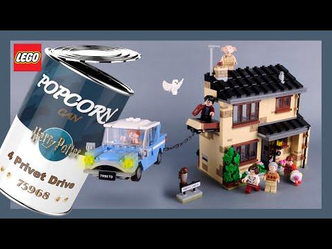 LEGO  Harry Potter 4 Privet Drive 75968  Stop Motion Speed Build