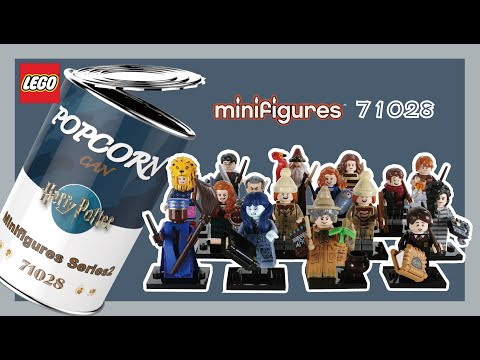LEGO Harry Potter Collectible Minifigures Series2 71028 Stop Motion Speed Build