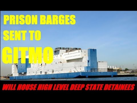 Prison Barges Sent To Gitmo