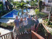 Family Belize Vacation Photo at Chabil Mar Resort Belize