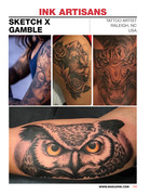 Maelle Ink Tattoo Magazine Issue #1 Colore211