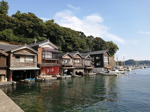 Cycling from Osaka to Ine via Amanohashidate
