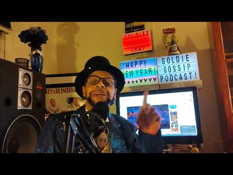 """""""Goldie Gossip"""" podcast#14. the New years edition!"""