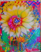 sunflower painting..78*98
