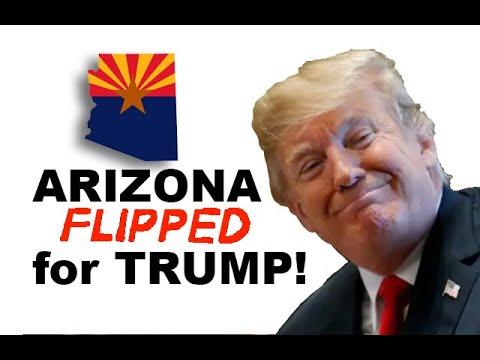 Arizona FLIPPED for Trump!