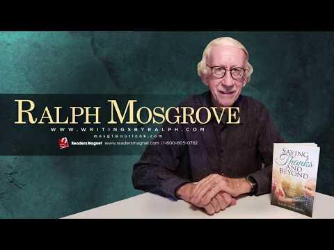 Ralph Mosgrove Book Signing