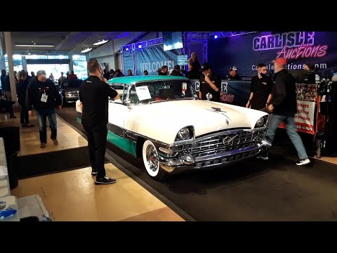 1956 Packard 400 Crosses the Block At the 2020 Fall Carlisle Auction