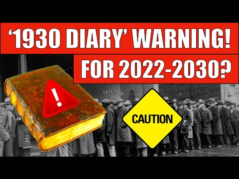 Does This 90 Year-Old Diary Predict The Next DEPRESSION?!