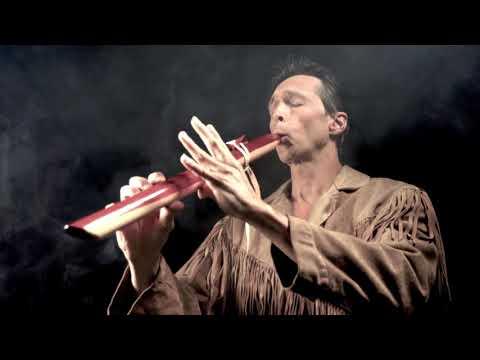 Native american flute Manitou