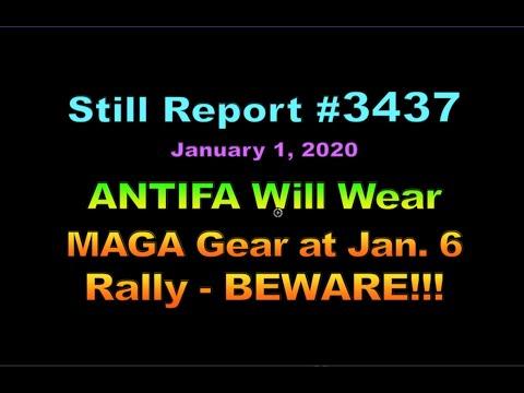ANTIFA Will Wear MAGA Gear at Jan  6 Rally!!!, 3437