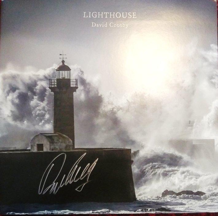 David Crosby signed Lighthouse LP