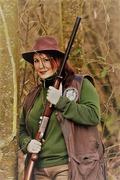 Qui a dit que la femme n'est pas faite pour la chasse ?