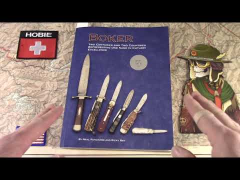 Hey! Have you seen the new Book on Boker Knives?