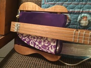 3-String Plastic Box Guitar - Uncle Crow Style