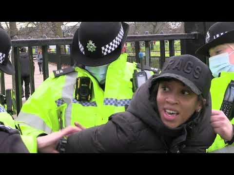 Anti Lockdown Protest | Speakers Corner | Edited | Multiple Arrests