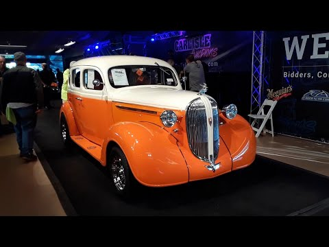 2020 Fall Carlisle Auction Video 9  1969 Plymouth Barracuda and 1938 Plymouth Street Rod