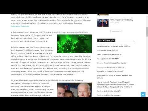 Delta Force Raids Biden-controlled Compound in Ukraine