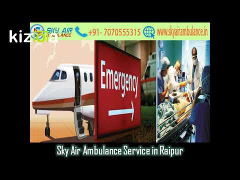 Take Sky Air Ambulance from Ranchi with fully Modern Medical Service