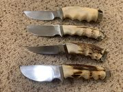 Photos of 1970's Gerber 425 & 450 knives from Pete Gerber to Pete Kershaw