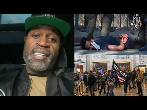 Stephen Jackson speaks on the double standards how Trump supporters get treated vs Black protesters
