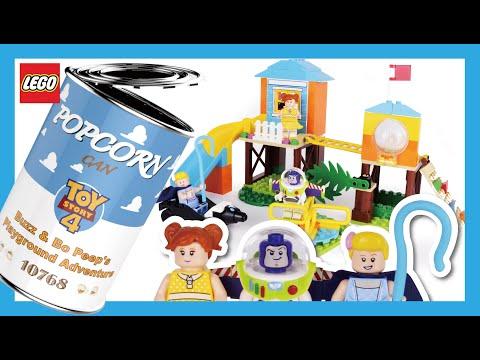 LEGO ToyStory4 10768 buzz&bo peep's playground adventure Stop Motion Speed Build