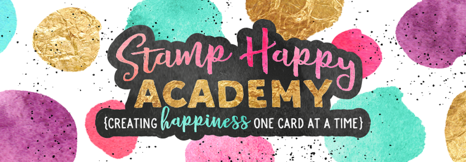 Stamp Happy Academy Logo