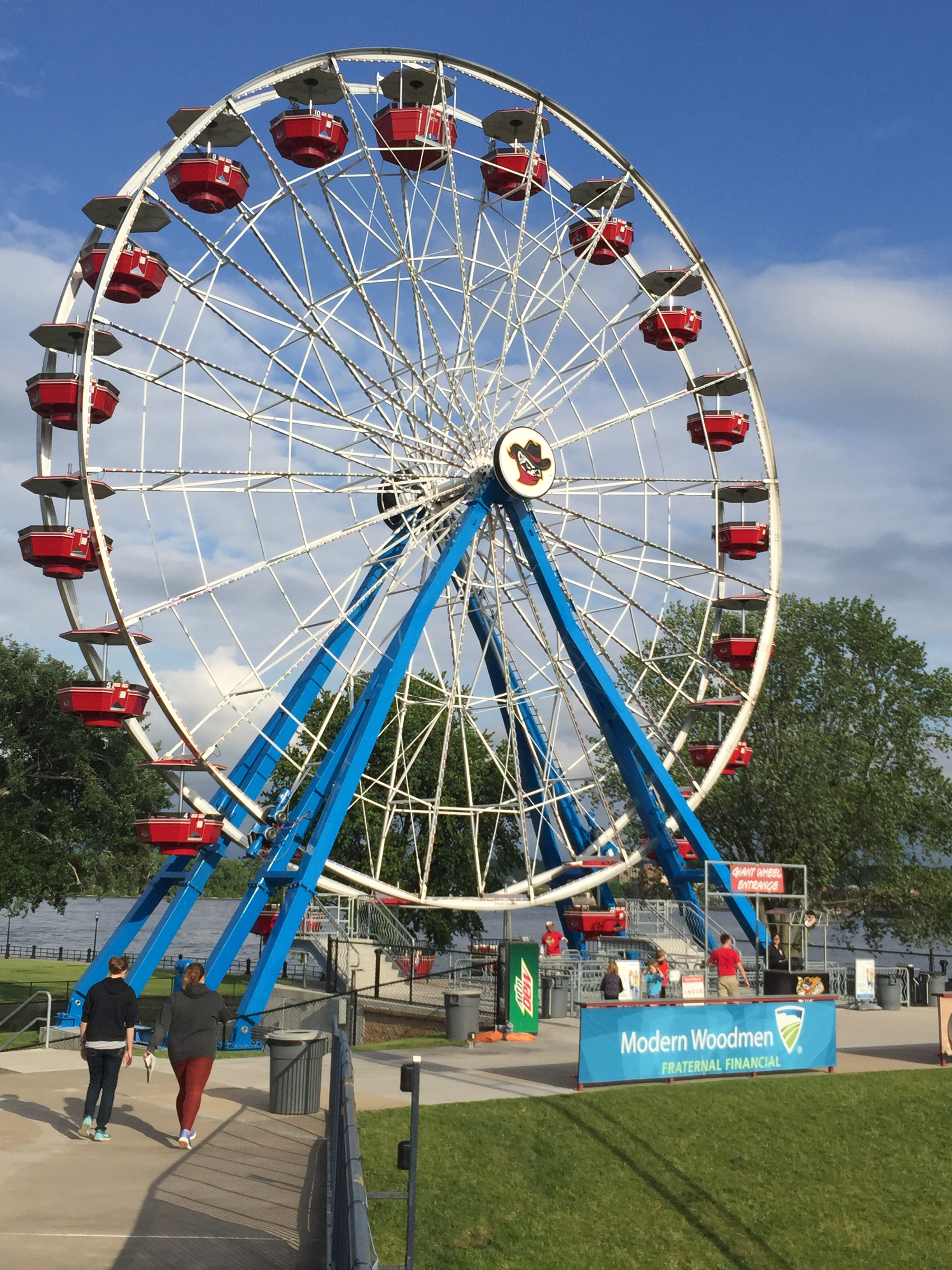 Ferris Wheel in Left Field
