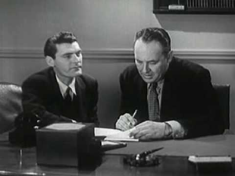 Hired! 1941 Chevrolet Car Sales Training and Motivation Film