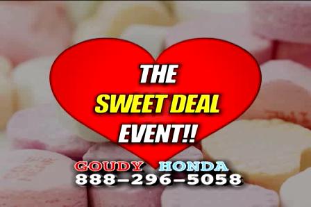 GOUDY HONDA SWEET DEAL TV web