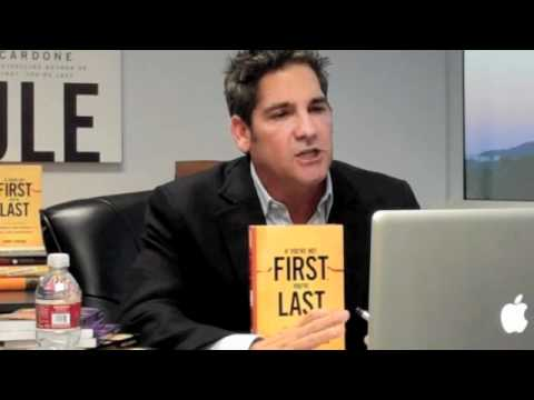 Successful Sales Training Grant Cardone Delivers Video-Skype Sales Training Conference