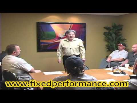 Fixed Performance - Automotive Dealership Consulting Tip