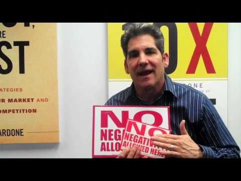Grant Cardone Says NO to Negativity!