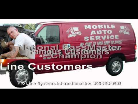 Intro Video to Pro Line Systems International - Body Shop Equipment
