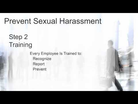 3 Steps To Prevent Sexual Harassment
