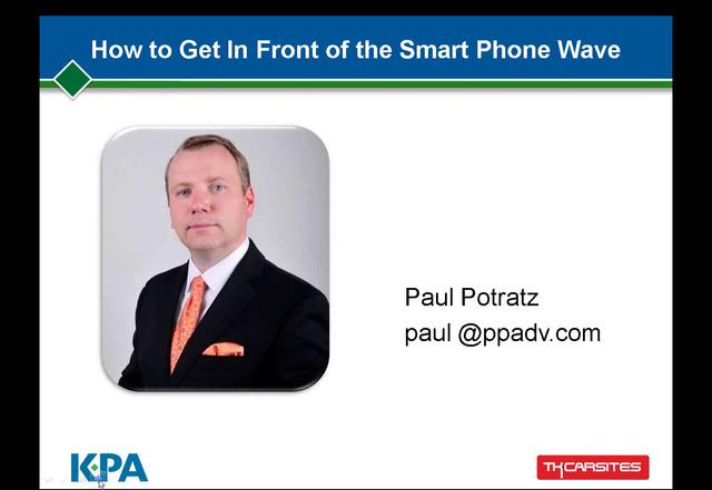 How to Get In Front of the Smart Phone Wave at Your Dealership