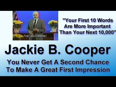 Jackie Cooper on Your First Ten Words
