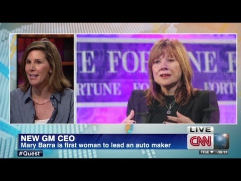 Mary Barra new GM CEO
