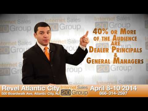 Internet Sales 20 Group is BETTER Than The Digital Dealer Convention - Atlantic City - 2014