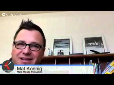 Mats Mobile Motivation - Noah's Ark, Field of Dreams and Sales in 2014