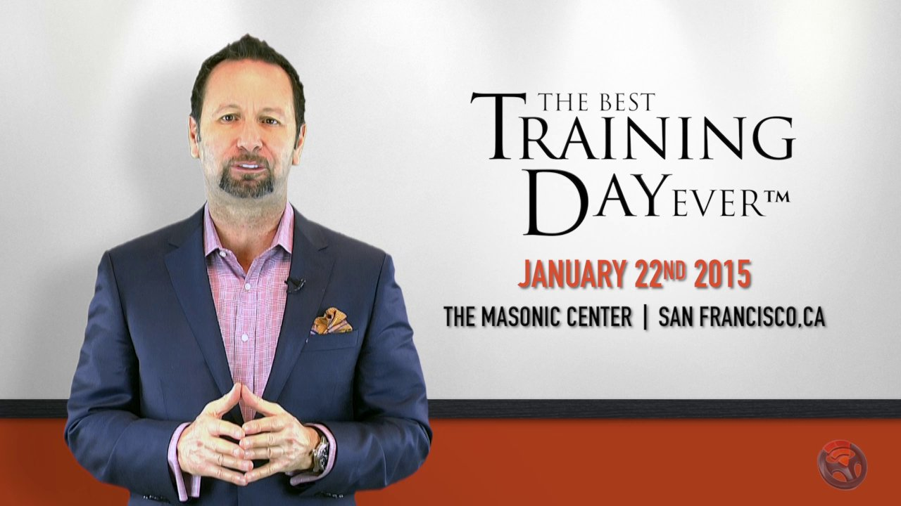 Alan Ram to speak at The Best Training Day Ever 2015