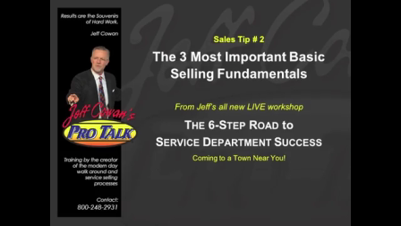 Sales Tip #2 The 3 Most Important Basic Selling Fundamentals